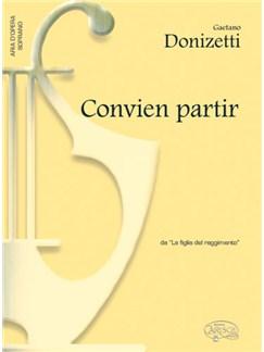 Gaetano Donizetti: Convien partir, da La Figlia del Reggimento (Soprano) Books | Piano & Vocal