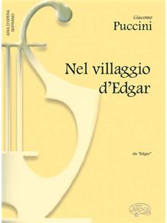 Giacomo Puccini: Nel villaggio d'Edgar, da Edgar (Soprano) Books | Piano & Vocal