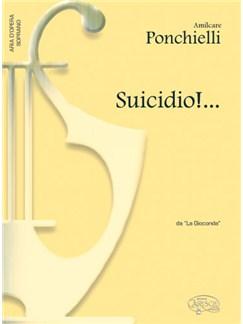 Amilcare Ponchielli: Suicidio!..., da La Gioconda (Soprano) Books   Piano & Vocal