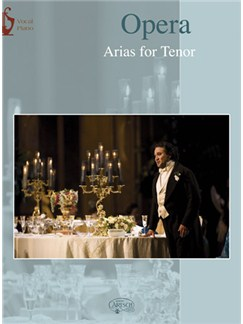 Opera: Arias for Tenor Books | Piano & Vocal