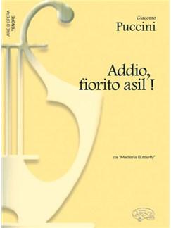 Giacomo Puccini: Addio, fiorito asil!, da Madama Butterfly (Tenore) Libro | Piano y Voz
