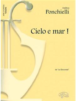 Amilcare Ponchielli: Cielo e Mar!, da La Gioconda (Tenore) Books   Piano & Vocal