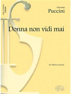 Giacomo Puccini: Donna non vidi mai, da Manon Lescaut (Tenore) Books   Piano & Vocal