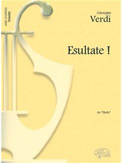Giuseppe Verdi: Esultate!, da Otello (Tenore) Libro | Piano y Voz