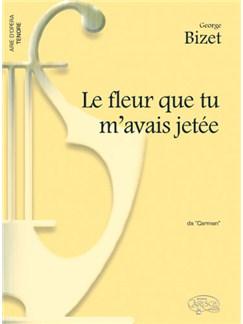 Bizet Fleur Que M'avais Jetee Ten/Pf Books |