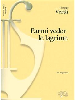 Giuseppe Verdi: Parmi veder le lagrime, da Rigoletto (Tenore) Libro | Piano y Voz