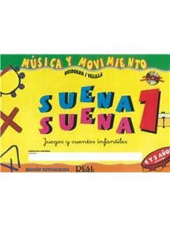 Suena Suena 1, Juegos y Cuentos Infantiles, para 4 y 5 Años Books and CDs | All Instruments