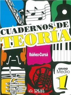 Cuadernos De Teoría, Grado Medio 1 Books | All Instruments