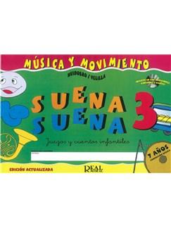 Suena Suena 3, Juegos y Cuentos Infantiles, para 7 Años (Formación Básica - Fichas del Alumno) CD y Libro | All Instruments