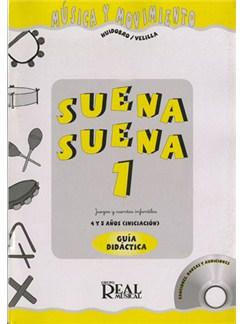 Suena Suena 1: Juegos Y Cuentos Infantiles, Para 4 Y 5 Años CD y Libro | Todos Instrumentos