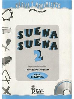 Suena Suena 2, Juegos Y Cuentos Infantiles, Para 6 Años (Formación Básica - Guía Didáctica Del Profe) CD y Libro | Todos Instrumentos