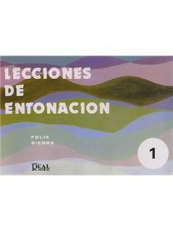 Lecciones de Entonación, 1 Books | Piano & Vocal