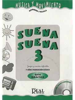 Suena Suena 3, Juegos y Cuentos Infantiles, para 7 Años (Formación Básica - Guía Didáctica del Profe CD y Libro | Todos Instrumentos