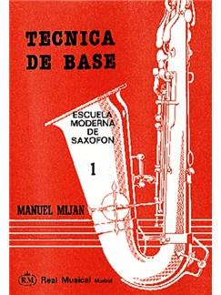 Técnica de Base, Volumen 1 Libro | Saxophone