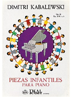 Kabalevsky: Piezas Infantiles para Piano: Op.39, Op. 51 No.1-3 Libro | Piano