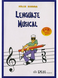 Lenguaje Musical, Grado Medio 1°A Books | All Instruments