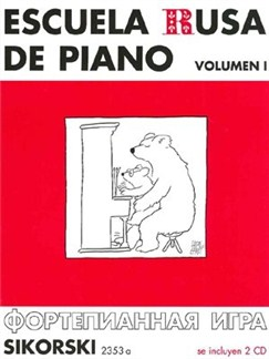 Escuela Rusa De Piano V.1+2cd Books | Piano