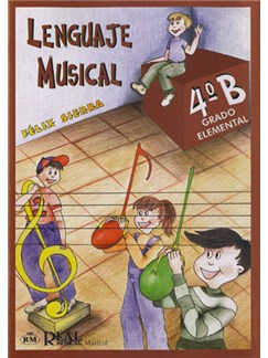Lenguaje Musical, Grado Elemental 4°b Libro | All Instruments