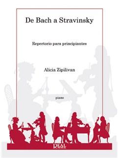 De Bach a Stravinsky, Repertorio para principiantes Books | Piano
