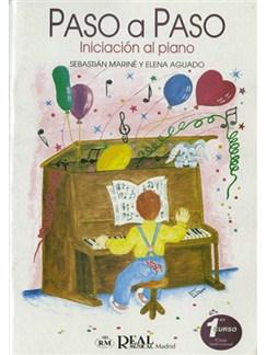 Paso a Paso, Iniciación al Piano, 1° Curso, Clase Individual Books | Piano