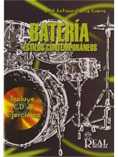 Batería, Estilos Contemporáneos CD y Libro | Drums