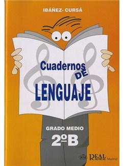 Cuadernos de Lenguaje, Grado Medio 2B Libro | All Instruments
