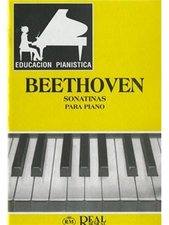 Ludwig Van Beethoven: Sonatinas para Piano (6) Libro | Piano