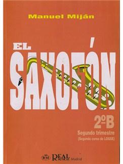 El Saxofón, Volumen 2B (2 Trimestre) Books | Saxophone