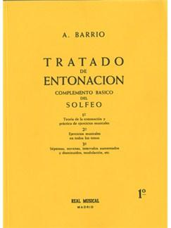 Tratado de Entonación, 1°: Teoría de la Entonación y Práctica de Ejercicios Musicales Libro | All Instruments