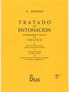Tratado de Entonación, 2°: Ejercicios Musicales en Todos Los Tonos Libro | All Instruments