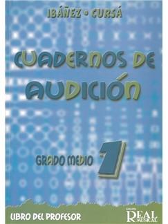 Ibanez/Cursa: Cuadernos De Audicion - Grado Medio Curso 1 (Libro Del Profesor/CD) Books and CDs |