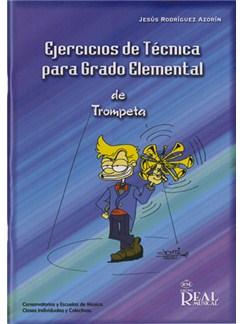 Ejercicios de Técnica para Grado Elemental de Trompeta Libro | Trumpet