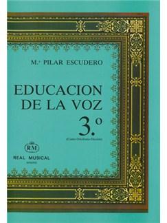 Educación de la Voz, 3 (Canto Ortofonía, Dicción) Libro | Voice