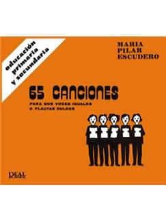 65 Canciones para Dos Voces Iguales o Flautas Dulces Libro | Recorder