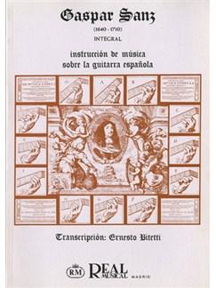 Instrucción de Música sobre Guitarra Española (Integral) Libro | Guitar