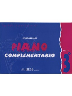 Iniciación al Piano : Ejercicios para Piano Complementario, Curso 3° Libro | Piano