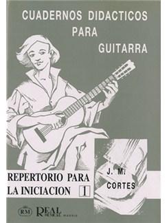 Cuadernos Didácticos para Guitarra, Repertorio para la Iniciación 1 Libro | Guitar