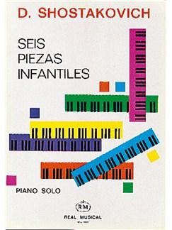 Dmitri Shostakovich: 6 Piezas Infantiles, para Piano Solo Libro | Piano