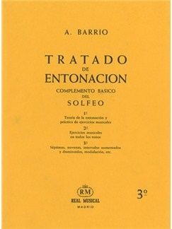 Tratado de Entonación, 3°: Séptimas, Novenas, Intervalos Aumentados y Disminuidos, Modulación, Etc. Libro | All Instruments