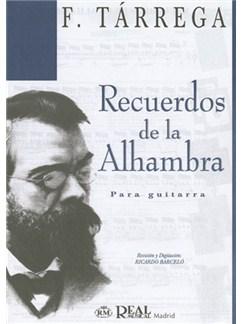 Francisco Tarrega: Recuerdos de la Alhambra para Guitarra Books | Guitar