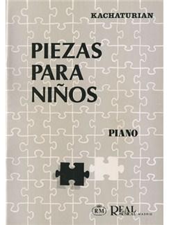 Aram Khatchaturian: Piezas para Niños Books | Piano