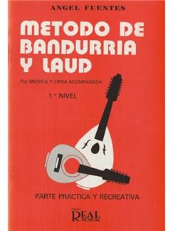 Método de Bandurria y Laúd por Música y Cifra Acompasada, 1er Nivel: Parte Práctica y Recreativa Libro | Guitar
