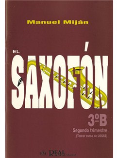 El Saxofón, Volumen 3B (2 Trimestre) Libro | Saxophone