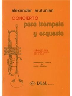 Alexander Arutunian: Concierto para Trompeta y Orquesta (Reducción para Trompeta y Piano) Libro | Piano, Trumpet