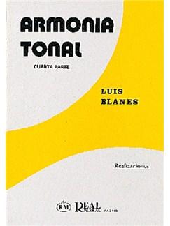 Armonía Tonal, 4 - Realizaciones Libro | All Instruments