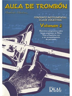 Aula de Trombón, Volumen 2 Books | Trombone