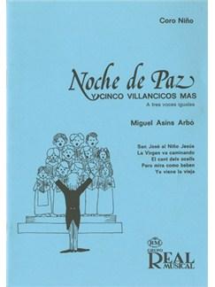 Noche de Paz y Cinco Villancicos Más a Tres Voces Iguales Libro | Choral