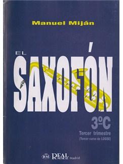 El Saxofón, Volumen 3C (3er Trimestre) Libro | Saxofón