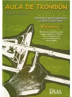Aula de Trombón, Volumen 3 Libro | Trombone