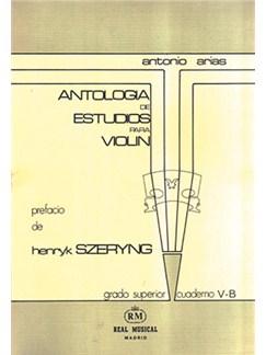 Antología de Estudios para Violín Volumen 5b, Grado Superior Libro | Violin
